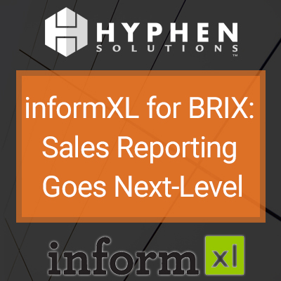 WEBINAR: informXL for BRIX – Sales Reporting Goes Next-Level